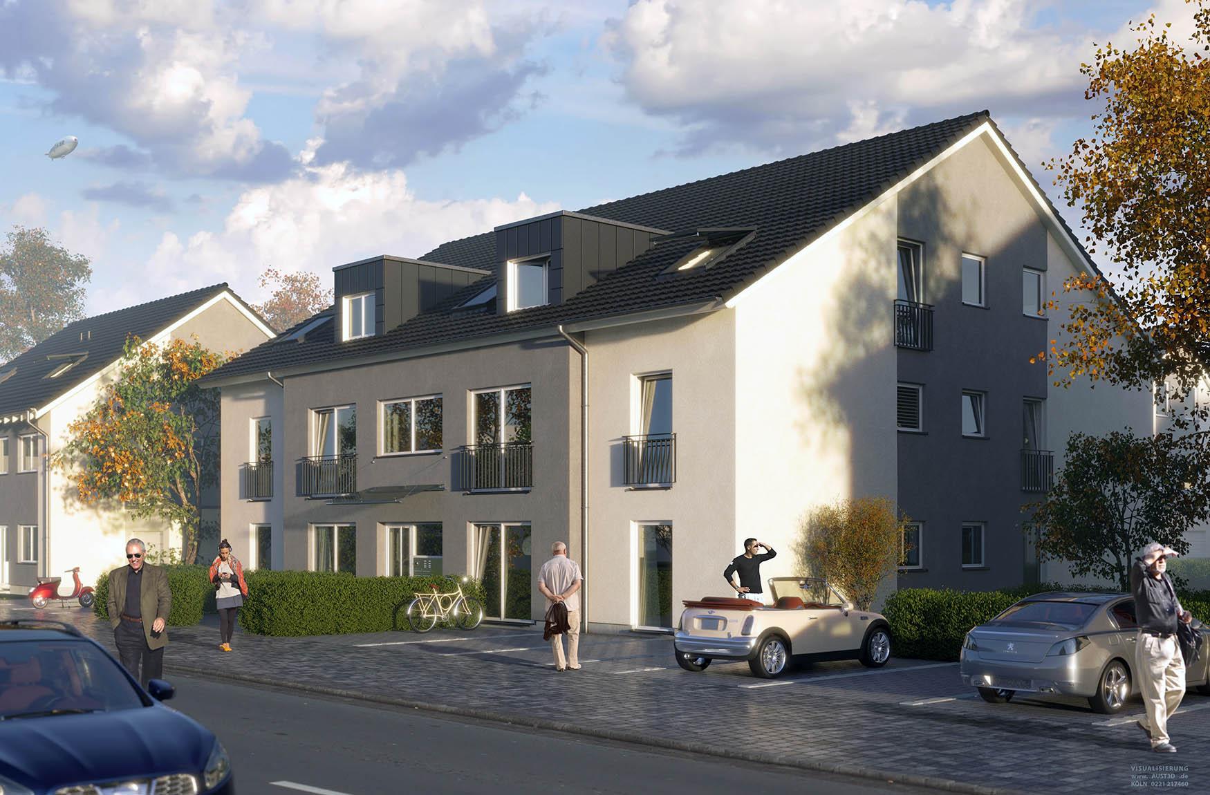 Pilger Wohnungsbau in Berzdorf